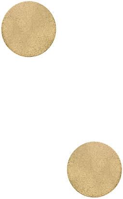 Amrita Singh Women's Oversize Disc Stud Earrings
