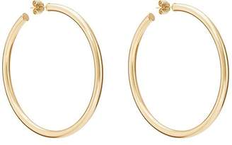 Carbon & Hyde Women's Yellow Gold Hollow Hoop Earrings