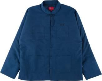 Supreme Mandarin Jacket - 'SS 18' - Navy