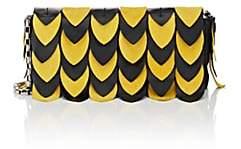 EOS Tomasini Women's Leather & Suede Shoulder Bag-Yellow, Blk