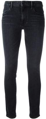 Helmut Lang high-waisted cropped jeans