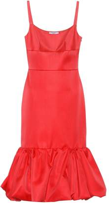 Prada Sleeveless wool and silk dress