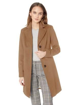 f79baea773361 Calvin Klein Women s Classic Cashmere Wool Blend Coat