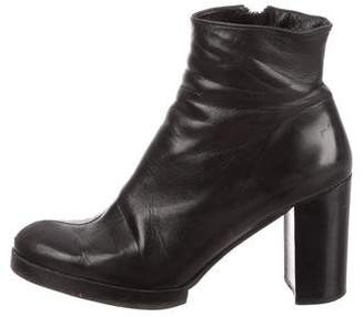 Robert Clergerie Round-Toe Ankle Boots