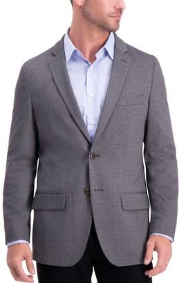 Haggar Men's Slim-Fit Knit Stretch Blazer