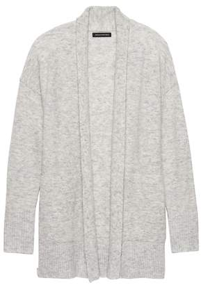 Banana Republic Petite Aire Long Open Cardigan