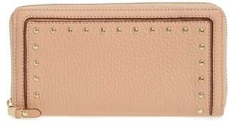 Cole Haan Cassidy Leather RFID Continental Zip Wallet