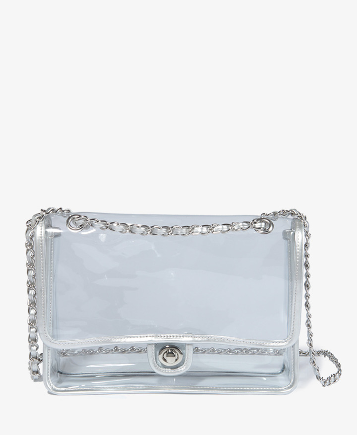 Forever 21 Clear Shoulder Bag