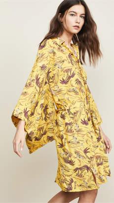 R 13 Hawaiian Kimono Dress
