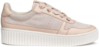 H&M Leather and Suede Sneakers