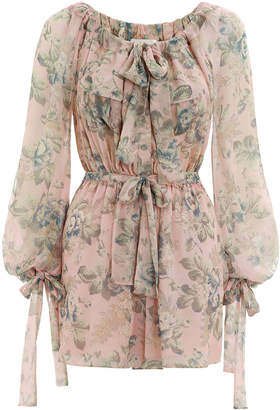 Zimmermann Tempest Gathers Playsuit