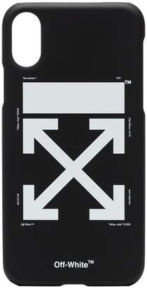 Off-White arrow logo iPhone X case