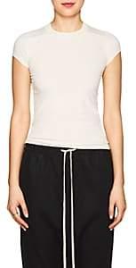 Rick Owens Women's Cotton T-Shirt - Natural