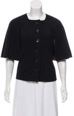 MICHAEL Michael Kors Capelet Knit Jacket