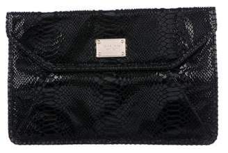 Michael Kors Embossed Envelope Clutch