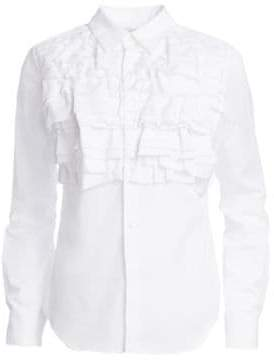 Comme des Garcons Broad Ruffled Button-Down Shirt