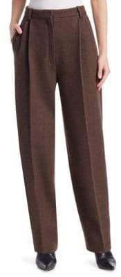 The Row Nika Wool& Cashmere Trousers