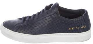 Common Projects Perforated Achilles Sneakers