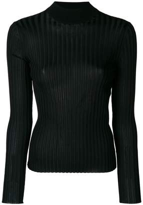 Emilio Pucci ribbed turtleneck sweater