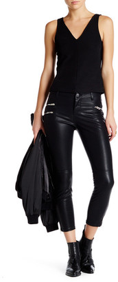 BLANKNYC Denim Faux Leather Pant $98 thestylecure.com