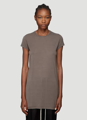 Rick Owens Short Sleeve T-Shirt in Grey