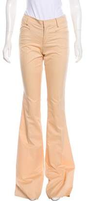 Gucci Mid-Rise Flared Pants w/ Tags