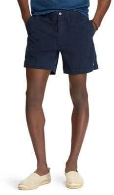 Polo Ralph Lauren Seersucker Cotton Blend Shorts