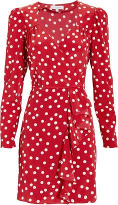 Intermix Florence Polka Dot Mini Dress
