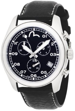 Evisu Men's EV-7003-01 Hiro Stainless Steel Swiss Chronograph Watch