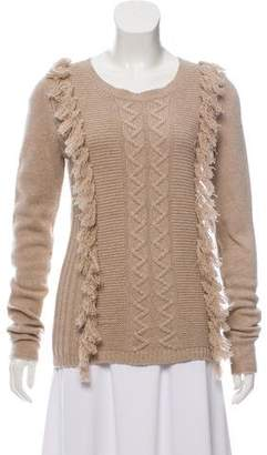 Tess Giberson Cable Knit Long Sleeve Sweater w/ Tags