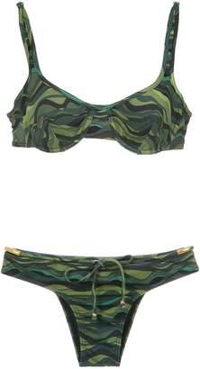Amir Slama drawstring bikini set