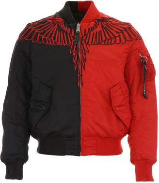 Marcelo Burlon County of Milan Wings Bomber Jacket
