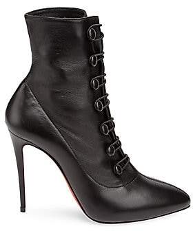 Christian Louboutin Women's French Tutu 85 Leather Booties