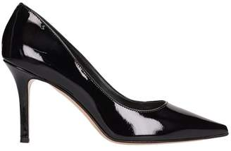 The Seller Black Patent Leather Decollete