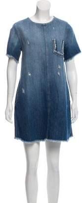 Current/Elliott Denim Short Sleeve Dress w/ Tags