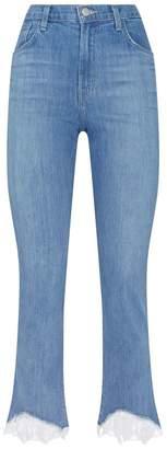 J Brand Ruby Crop Cigarette Jeans