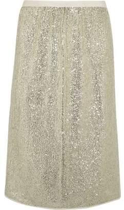 Vanessa Bruno Gregor Sequined Crepe Skirt