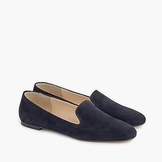 J.Crew Suede smoking slippers