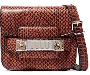 Proenza Schouler Ps11 Tiny Snake-Effect Leather Shoulder Bag