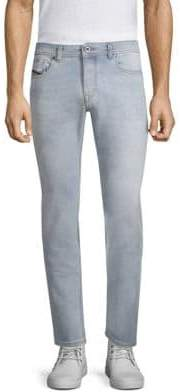 Diesel Black Gold Classic Washed Slim Straight Fit Jeans
