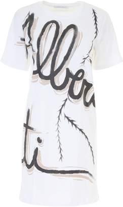 Alberta Ferretti Jersey Mini Dress