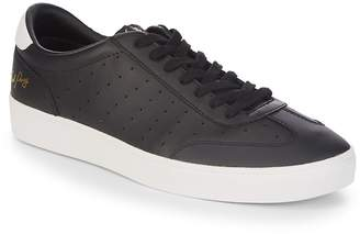 Fred Perry Men's Umpire Leather Low-Top Sneakers