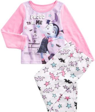 Vampirina Little Girls 2-Pc. Fleece Pajama Set