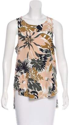 Rag & Bone Patricia Printed Silk Top