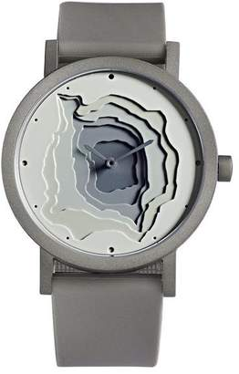 "Projects Watches White Landscape Watch ""Terra-Time"""