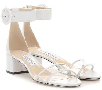 Jimmy Choo Jaimie 40 leather sandals