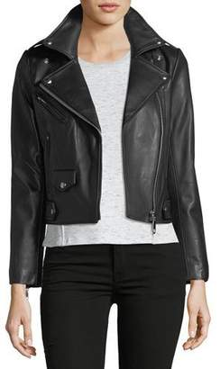 Rebecca Minkoff Wes Motorcycle Leather Jacket