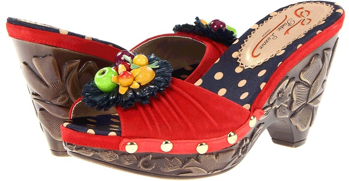 Poetic Licence All The Pretty Birds (Red) - Footwear