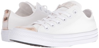 Converse Chuck Taylor® All Star® Brush-Off Leather Toecap Lo $60 thestylecure.com