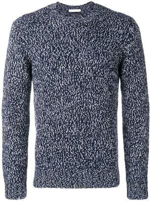 Cruciani ribbed crewneck sweater